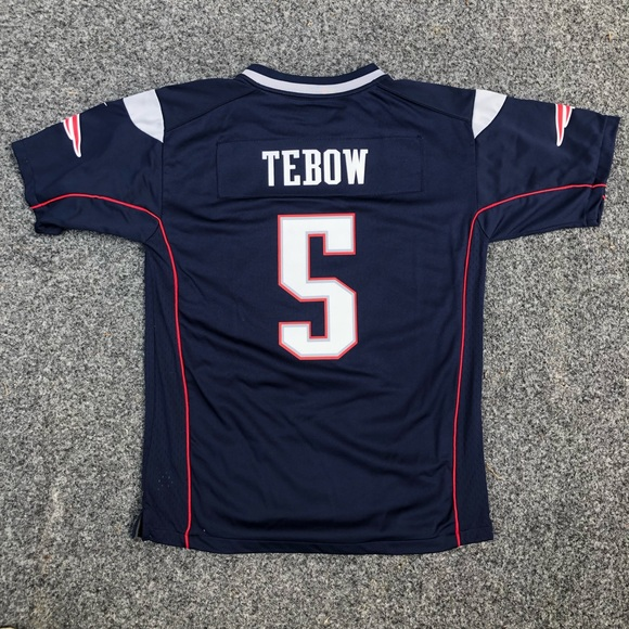 free shipping 5fdca 83310 New England Patriots Tim Tebow Jersey